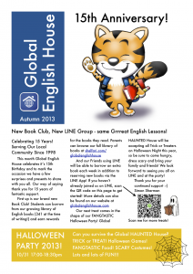 GEH Newsletter - Autumn 2013